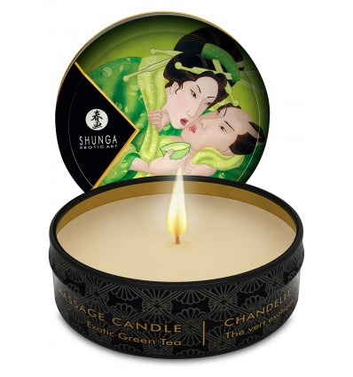 Shunga - Zenitude / Exotic Green Tea Massage Candle 30 ml