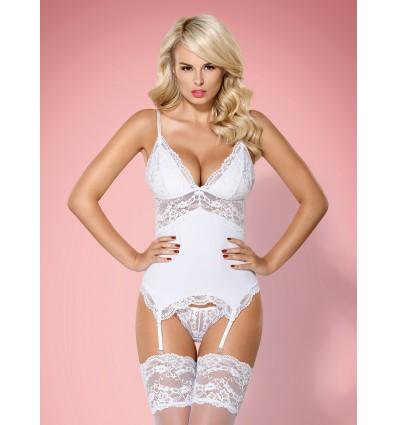 810-COR corset white
