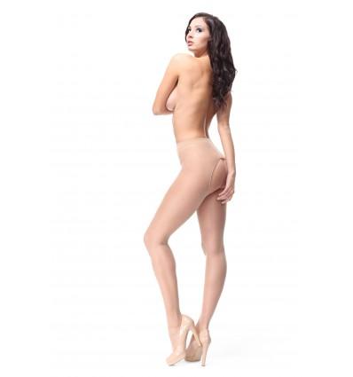 P201 pantyhose beige / visone XXL