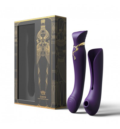 Zalo Legend Queen Set G-Spot Pulse Wave Vibrator Twilight Purple
