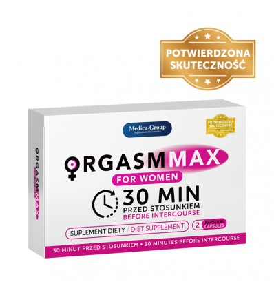 Orgasm Max for Women 2 tabs