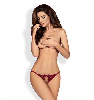 Miamor crotchless panties ruby