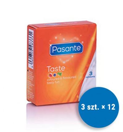 Pasante Flavours Mixed Taste 3's x 12