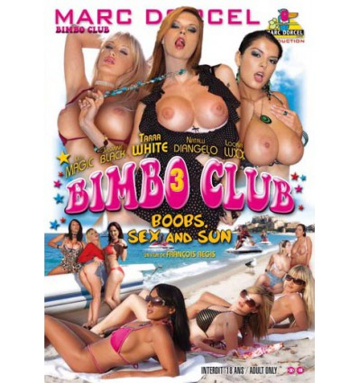 DVD Marc Dorcel - Bimbo Club 3 : boobs, sex and sun