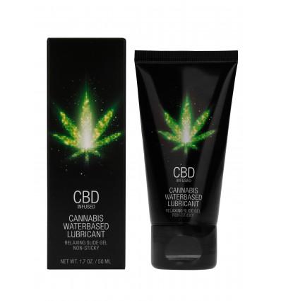 Shots CBD Cannabis Waterbased Lubricant 50 ml