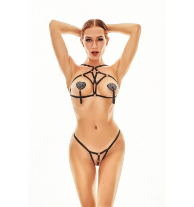 Anais Xanto harness and thong