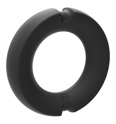 Kink Hybrid Silicone Covered Metal Cock Ring 45mm