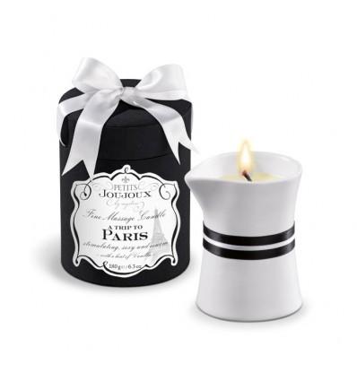 Fine Massage Candles - A trip to Paris - large